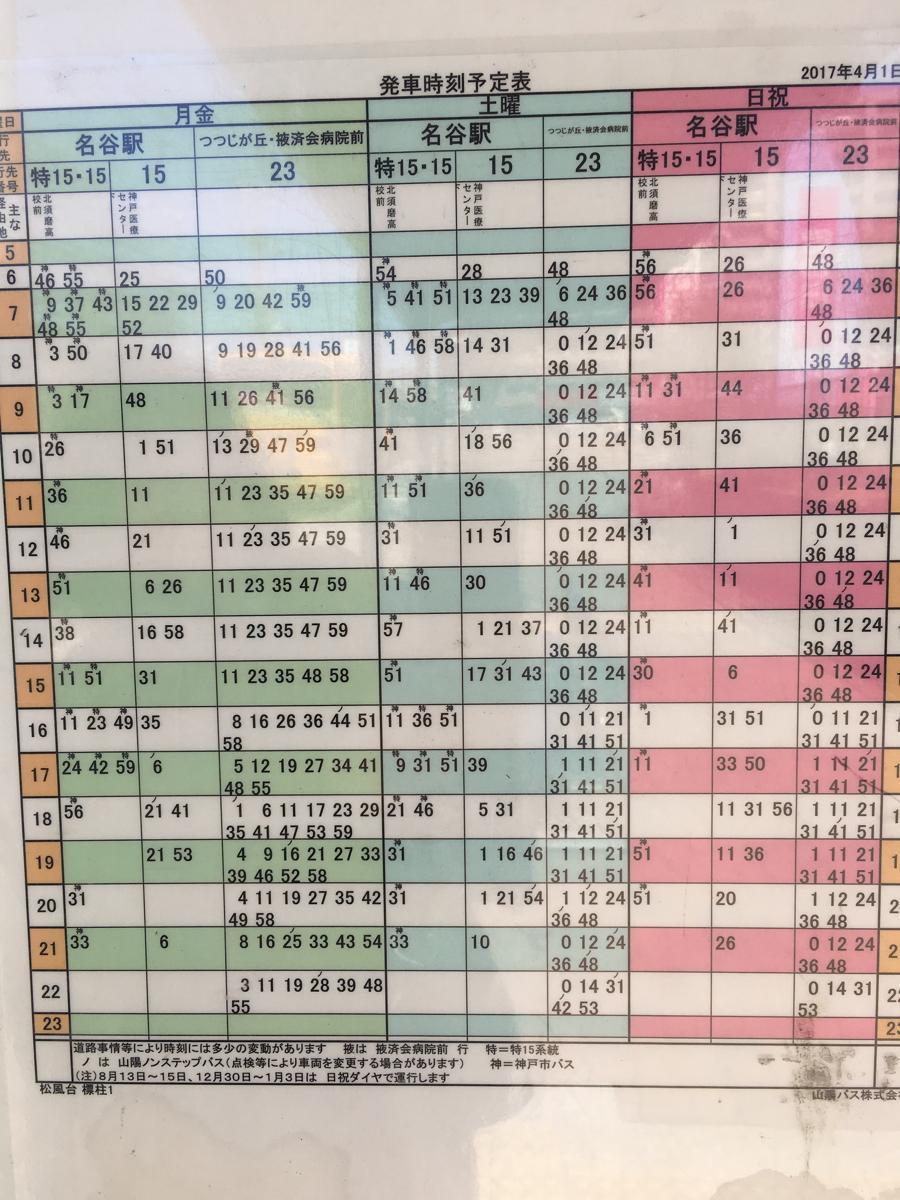 表 山陽 バス 時刻