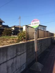 「牛牧八幡神社東」バス停留所
