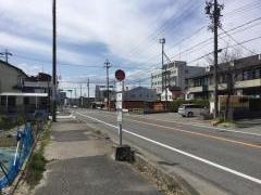 「橋下町」バス停留所