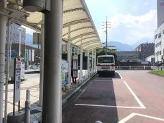 「別府駅西口」バス停留所