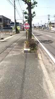 「南栄町三丁目」バス停留所