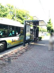 「府立医大病院前」バス停留所