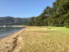 萩の浜水泳場