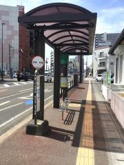 「宮城野区役所前」バス停留所