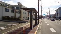 「南千歳橋」バス停留所