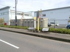 「野村口」バス停留所