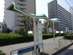「伝法」バス停留所