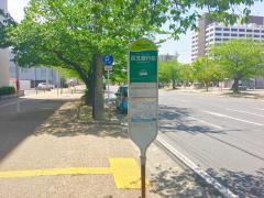 「百五銀行前」バス停留所