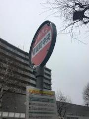 「青葉町中央」バス停留所