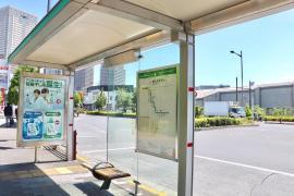 「南千住駅東口」バス停留所