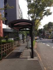 「御影橋」バス停留所