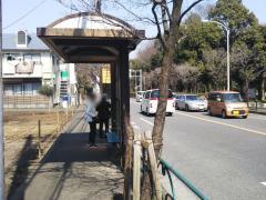 「小金井公園西口」バス停留所