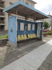 「高砂住宅」バス停留所
