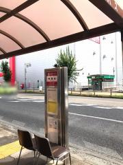 「鳥居松」バス停留所