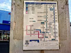「人吉郵便局前」バス停留所