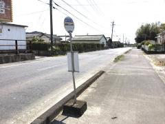 「野神三文字」バス停留所