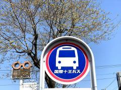 「富士見中入口」バス停留所