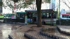 「浦和駅西口」バス停留所