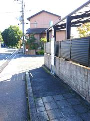 「中町東坂」バス停留所