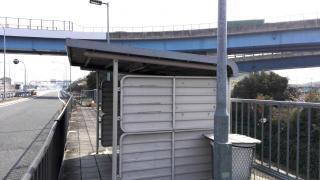 「名神大山崎」バス停留所