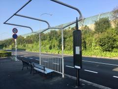 「城の里」バス停留所
