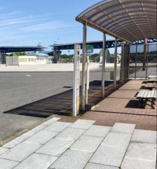 「海浜公園西口」バス停留所