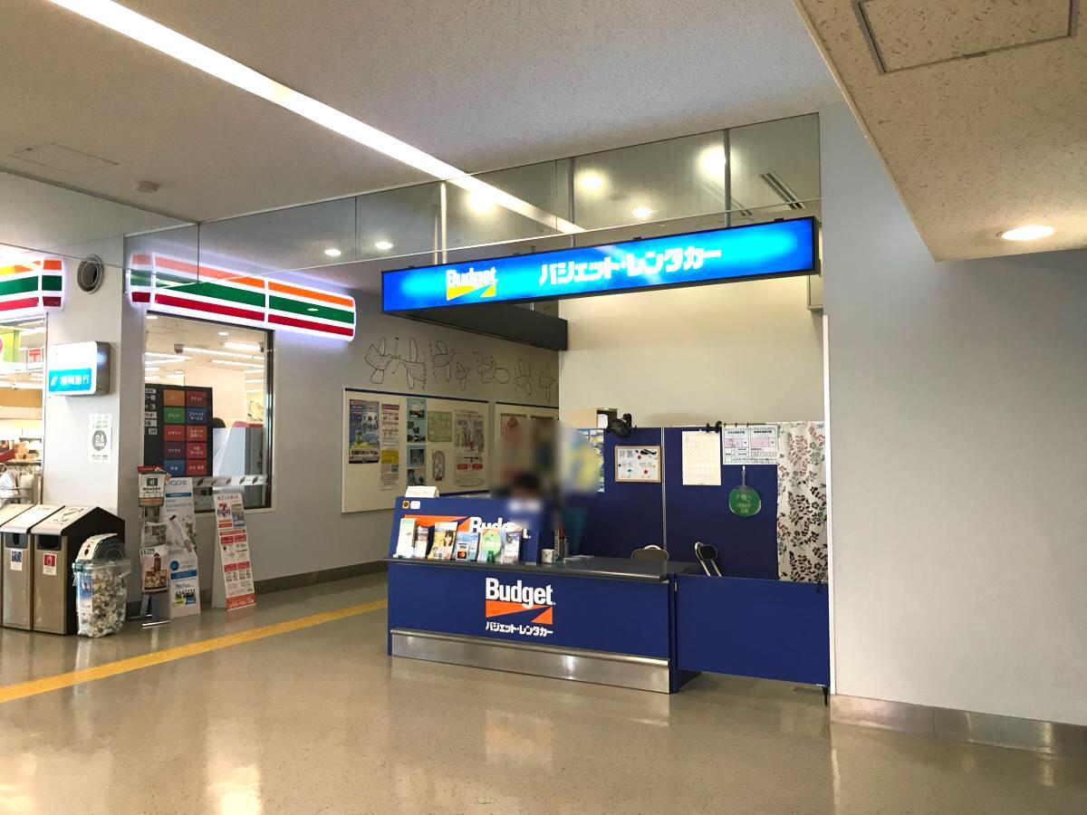 バジェットレンタカー北九州空港店