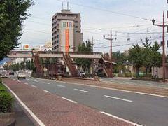 市立体育館前駅