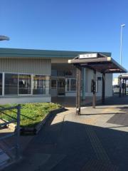 「松茂」バス停留所