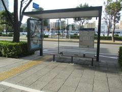 「みなとみらい大通」バス停留所