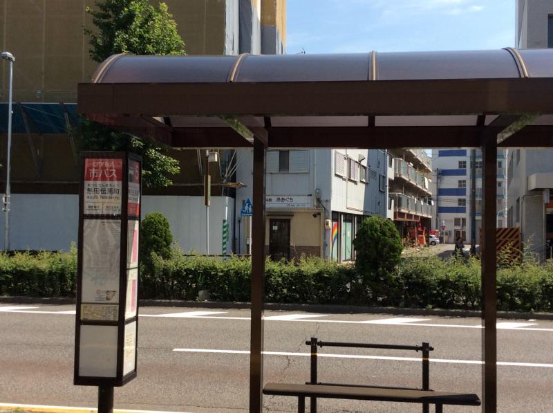 熱田伝馬町バス停留所