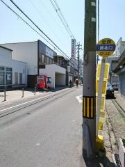 「岡北口」バス停留所