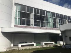 山口南総合センター体育館アリーナ棟