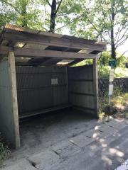 「山川」バス停留所