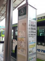 「志木駅東口」バス停留所