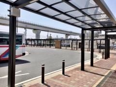 「長久手古戦場駅」バス停留所