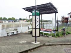 「小磧橋」バス停留所
