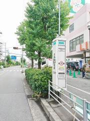 「平野東住宅前」バス停留所