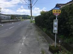 「小蓬原」バス停留所