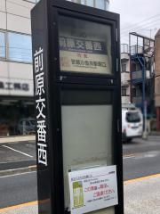 「前原交番西」バス停留所