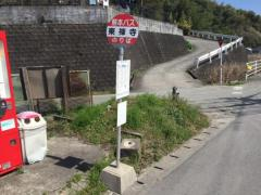 「東禅寺」バス停留所