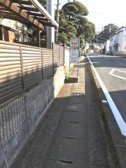 「市の山」バス停留所