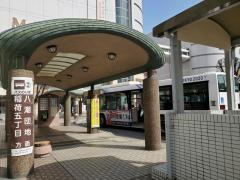 「草加駅東口」バス停留所