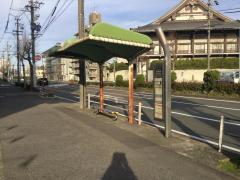 「白鳥橋」バス停留所
