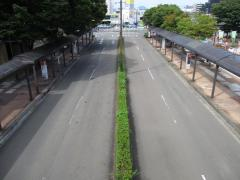 「地下鉄八乙女駅」バス停留所