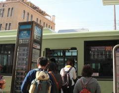 「四条京阪前」バス停留所