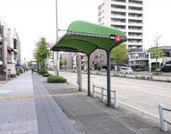 「新郊通三丁目」バス停留所