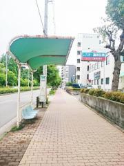 「長居公園東口」バス停留所