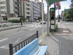 「湯里五丁目」バス停留所