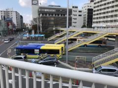 「JR茨木」バス停留所